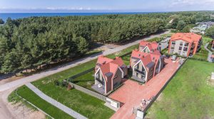 Kotedzai prie juros, Palanga, Lietuva nuotraukos is oro dji_0054
