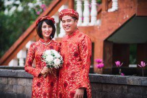 Vestuvių akimirkos Vietname