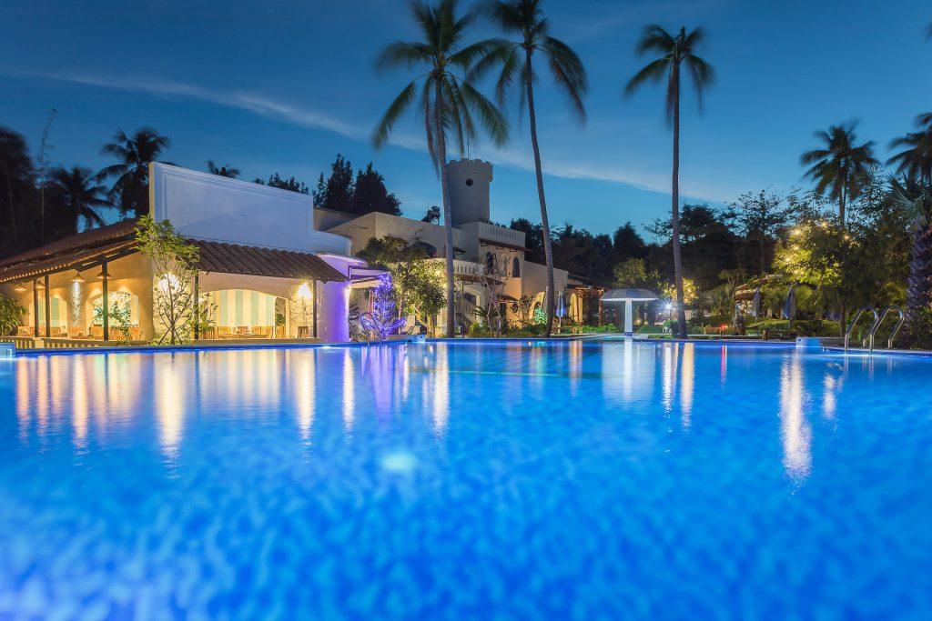 Viešbučio įvaizdinė fotosesija, interjero bei eksterjerų fotografavimas, lifestyle fotosesija viešbučio pristatymui svetaineje booking.com Vietnamas, Phu Quoc